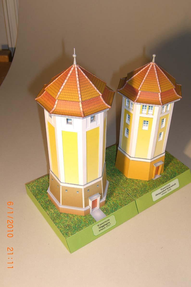 Architekturmodelle von Hans-Joachim Zimmer Goeg310