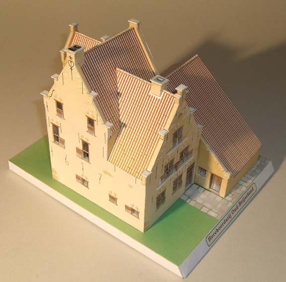 Architekturmodelle von Hans-Joachim Zimmer Herebo10