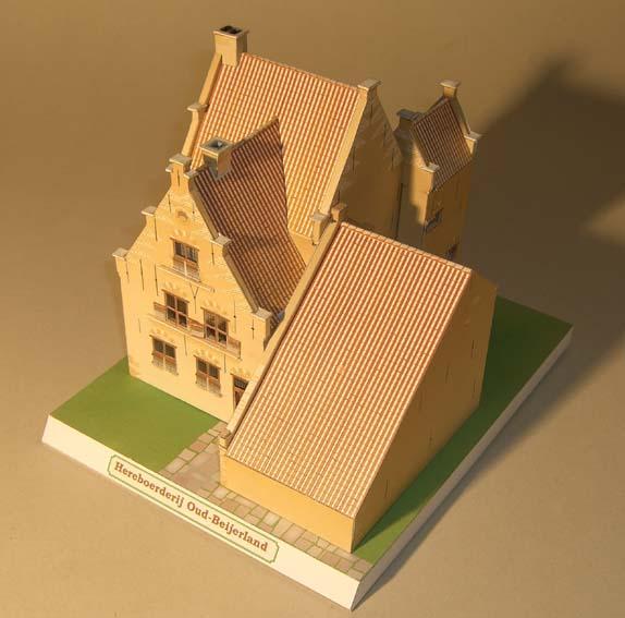 Architekturmodelle von Hans-Joachim Zimmer Herebo13