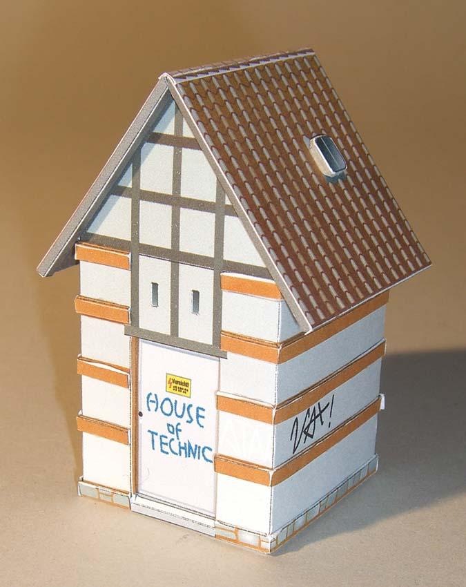 Architekturmodelle von Hans-Joachim Zimmer House_10