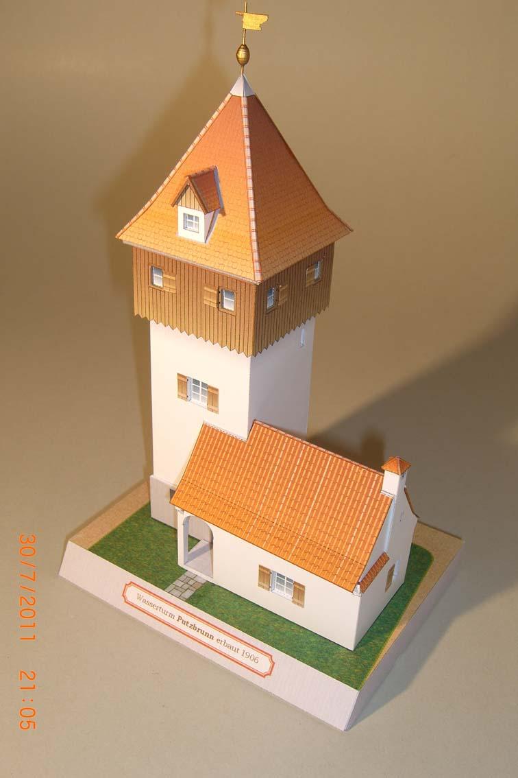 Architekturmodelle von Hans-Joachim Zimmer Putz410