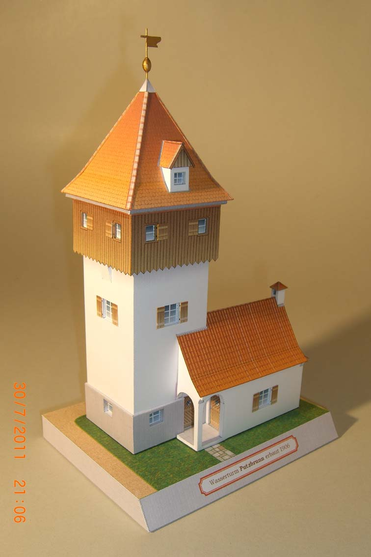 Architekturmodelle von Hans-Joachim Zimmer Putz510