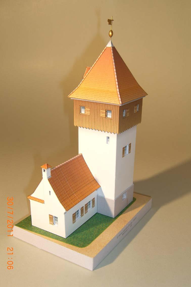 Architekturmodelle von Hans-Joachim Zimmer Putz610