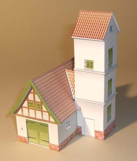 Architekturmodelle von Hans-Joachim Zimmer Spritz10