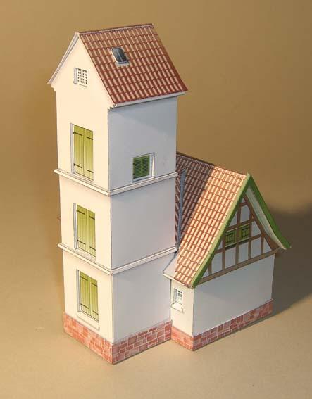Architekturmodelle von Hans-Joachim Zimmer Spritz11