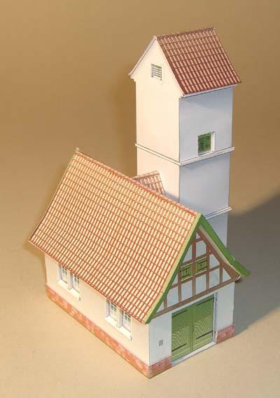 Architekturmodelle von Hans-Joachim Zimmer Spritz12