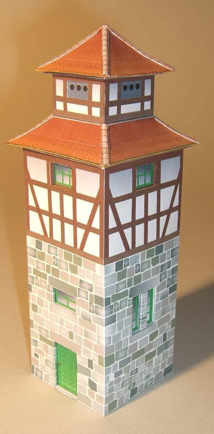 Architekturmodelle von Hans-Joachim Zimmer Trafo_10