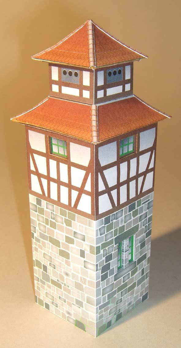 Architekturmodelle von Hans-Joachim Zimmer Trafo_11
