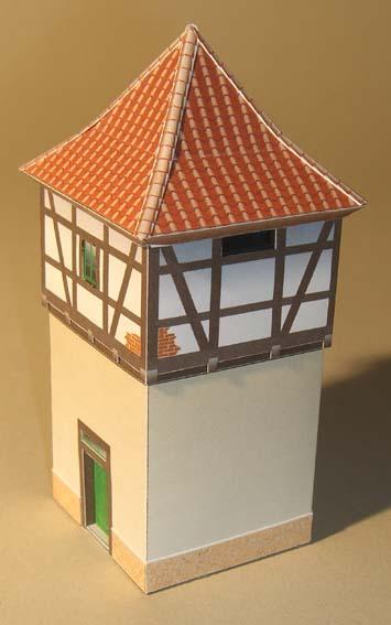 Architekturmodelle von Hans-Joachim Zimmer Trafo_12