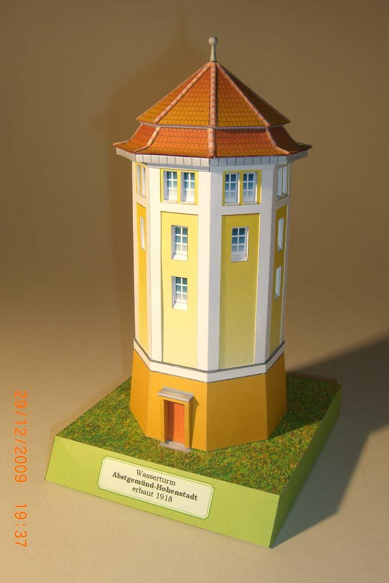 Architekturmodelle von Hans-Joachim Zimmer Wtabst10