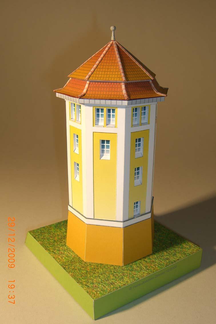 Architekturmodelle von Hans-Joachim Zimmer Wtabst11