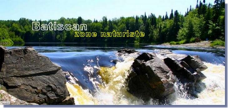 MAURICIE: comté Mékinac (rivière Batiscan) Chute815