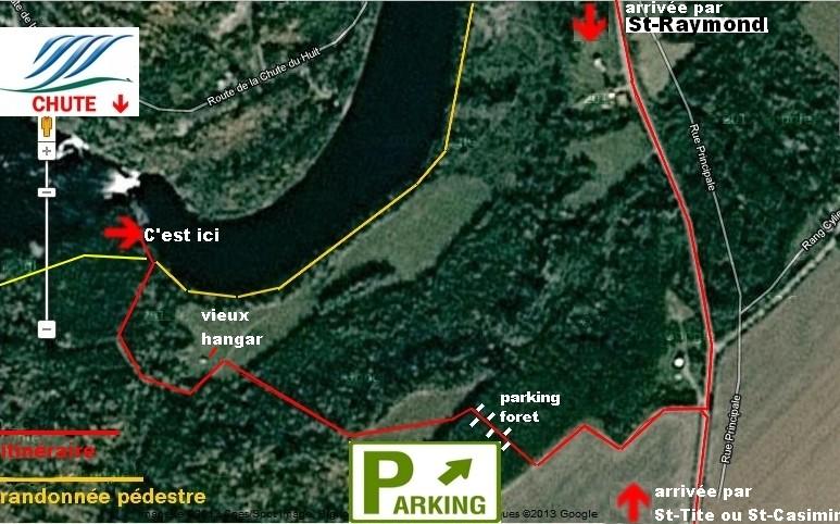 MAURICIE: comté Mékinac (rivière Batiscan) Montau10