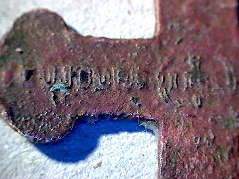 Petite croix Souvenir de Mission - début XXème 110