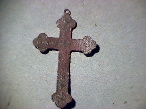 Petite croix Souvenir de Mission - début XXème B10