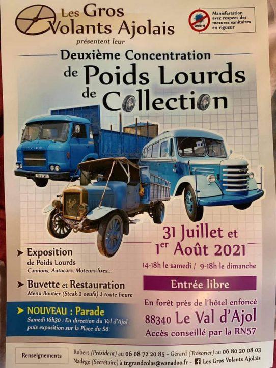 (88)[31/07/01/08/21] 2eme exposition vieux camions 21433112