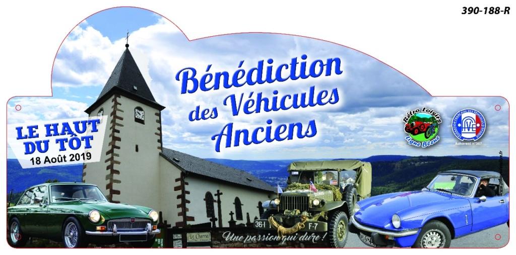 (88 [18/08/ 2019] Benediction vehicules anciens Haut du Tot I2823112
