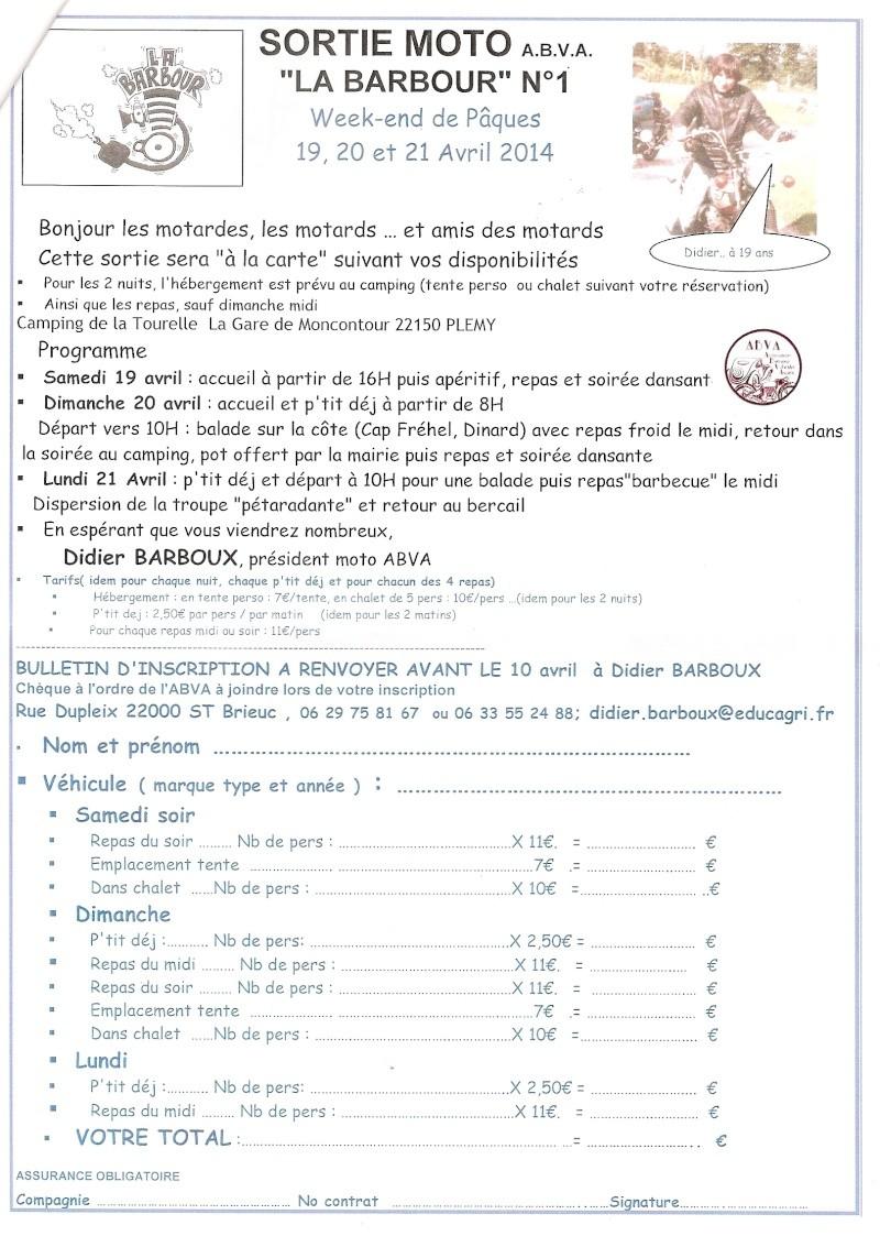 """Première édition """"La Barbour"""" - Avril 2014. Numari19"""