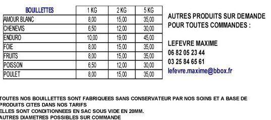 tarifs Amorces Brand 2014 Amorce16