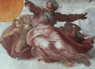 LE PLAFOND DE LA SIXTINE/ MICHEL ANGE Dieu-s10