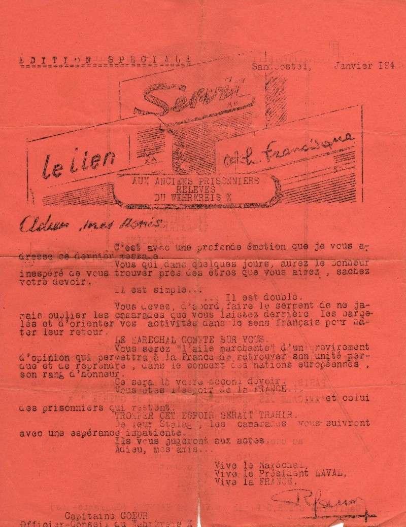 présentation et recherches renseignements période captivité Grand Père au stalag XA Editio11