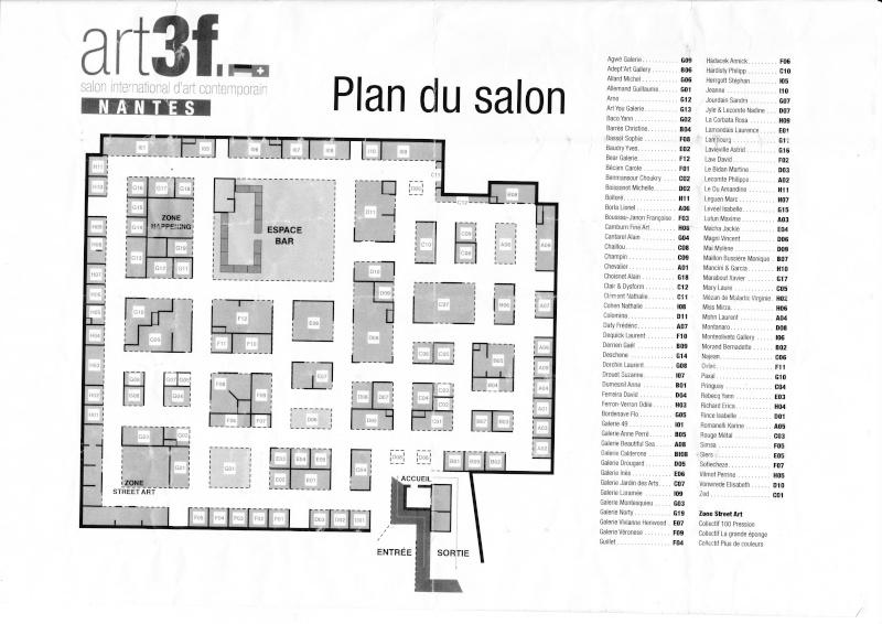 art3f. 1ère salon international d'art contemporain à Nantes Img_0010