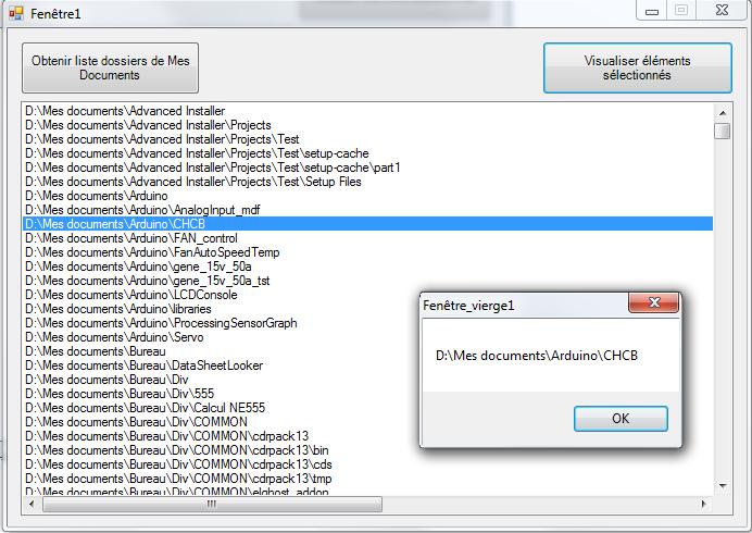[RESOLU] Obtenir le chemin d'accés a un dossier/fichier pour pouvoir le supprimer , renomer , ect ... dans une ListBox Sz11