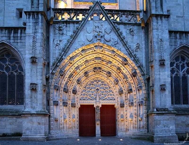 Cathédrale St Corentin de Quimper 1v4b0110