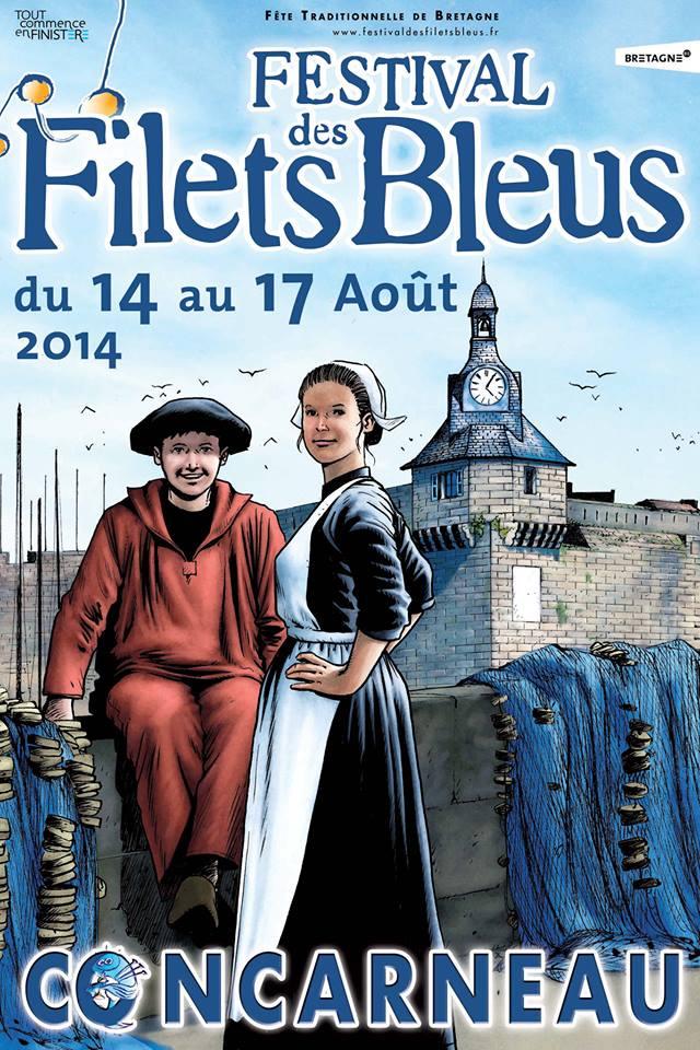 filets bleus à Concarneau Filets10