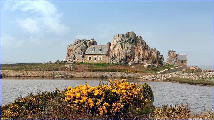 Castel Meur: La maison entre les rochers Maison10