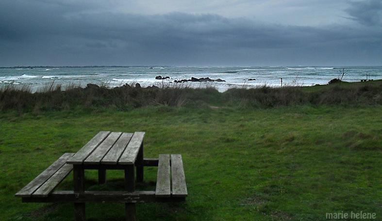 un petit café en plein vent face à la tempête... Zz212