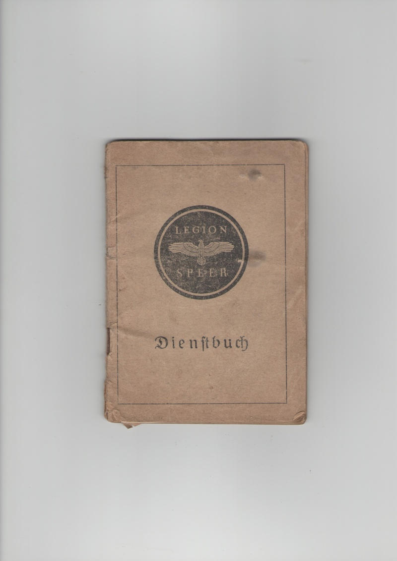 Vos livrets militaires allemands WWII (Soldbuch, Wehrpass..) / Heer-LW-KM-SS... 128