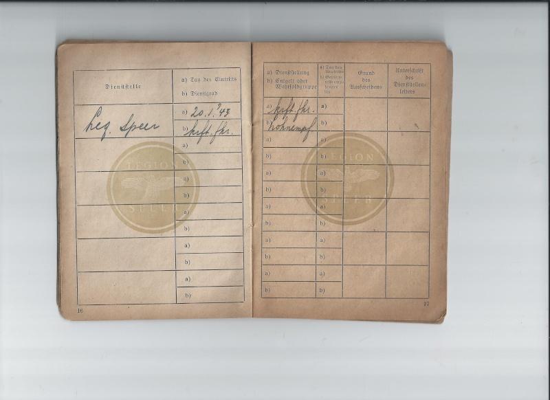 Vos livrets militaires allemands WWII (Soldbuch, Wehrpass..) / Heer-LW-KM-SS... 518