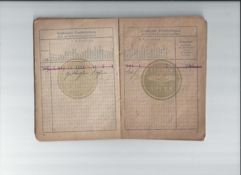 Vos livrets militaires allemands WWII (Soldbuch, Wehrpass..) / Heer-LW-KM-SS... 619
