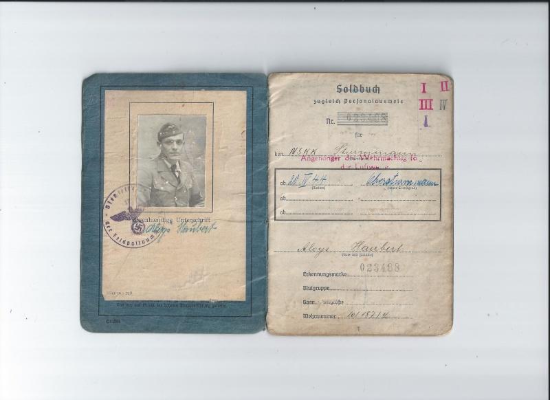 Vos livrets militaires allemands WWII (Soldbuch, Wehrpass..) / Heer-LW-KM-SS... Scan0011
