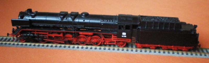Dampflok 45 012 mit vierachs Öltender. 45_01210