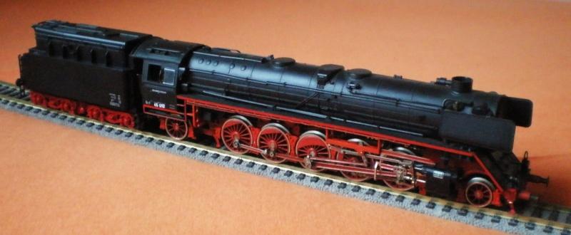 Dampflok 45 012 mit vierachs Öltender. 45_01214