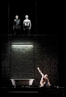 Hamlet (Shakespeare/ Ambroise Thomas/ Olivier Py) Hamlet11