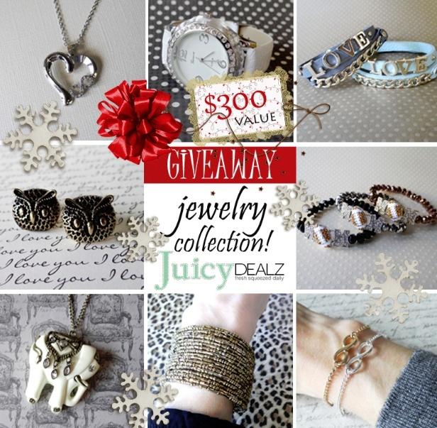 JuicyDealz Holiday Giveaway ends 12/02 Jui10