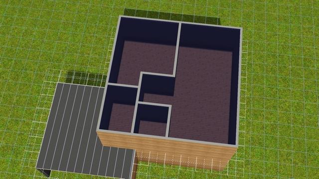 [Intermédiaire] Créer un étage en partie mansardé 0711