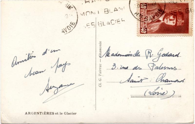 Tarif des cartes postales pendant la Deuxième Guerre mondiale 1941_c11