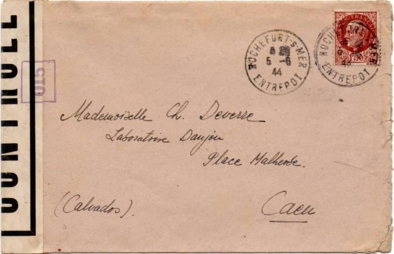 Tarif des lettres pendant la Deuxième Guerre mondiale 1944_c12
