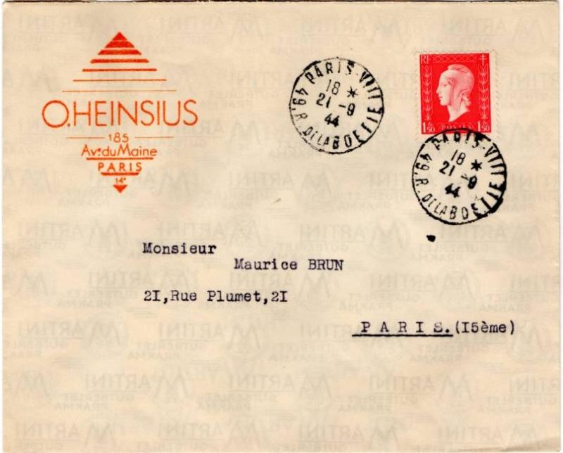 Tarif des lettres pendant la Deuxième Guerre mondiale 1944_d10