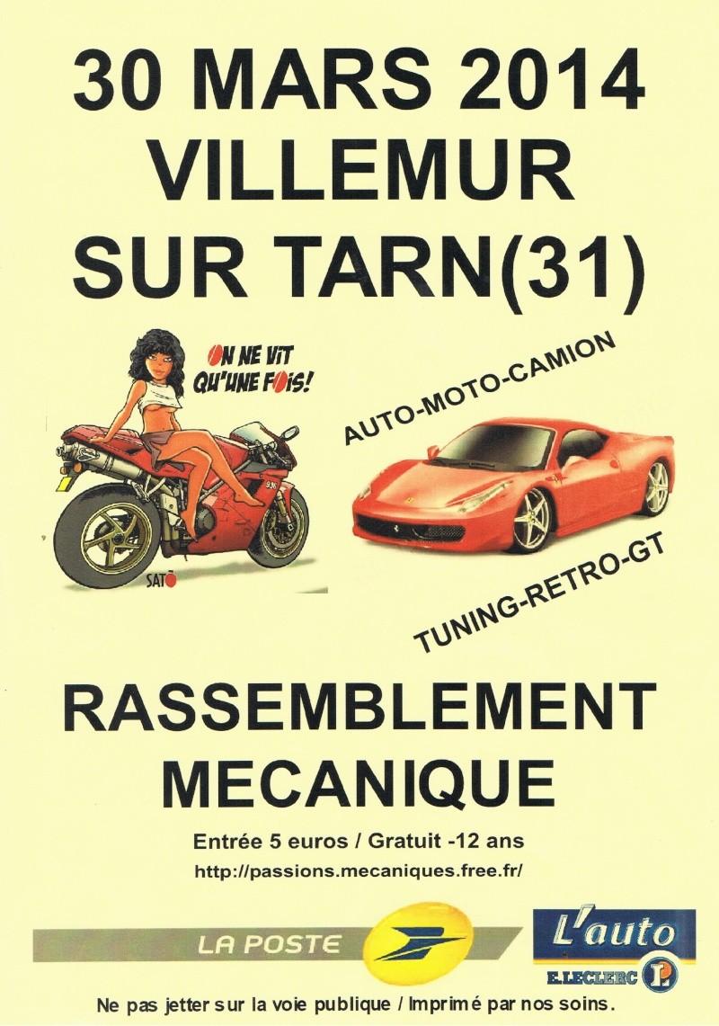 EXPO à Villemur sur Tarn (30km de Montauban et de Toulouse) Affich10