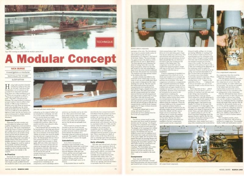The original modular ballast system. Burge_14
