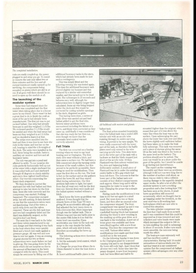 The original modular ballast system. Burge_15