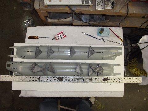 Type XX111 U Boat by Bronco Models Dscf4010