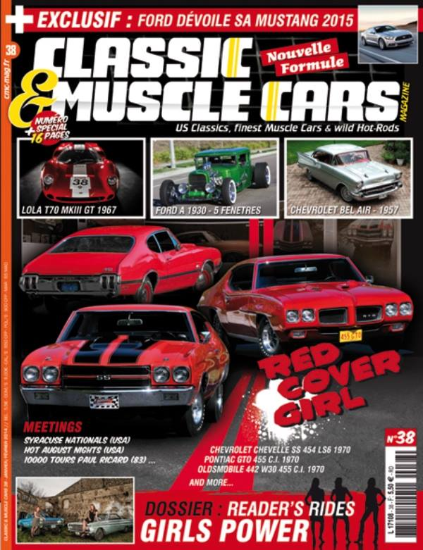 Classic and muscle cars N°38 15123512