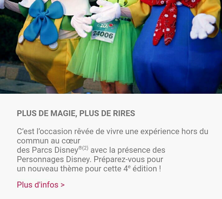 Disneyland® Paris Run Weekend 2019 (du 19 au 22 septembre)  - Page 2 20180911