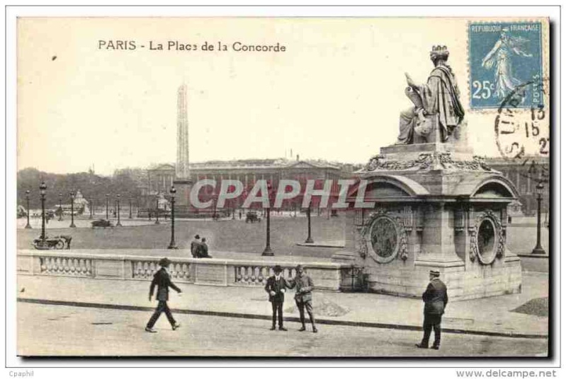 La place Louis XV, puis place de la Révolution, puis place de la Concorde au XVIIIe siècle 959_0011